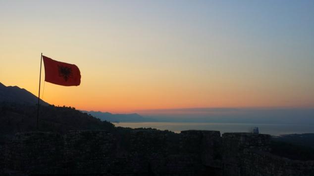 rozafa castello scutari albania