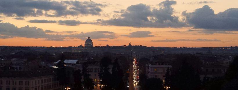 roma tramonto