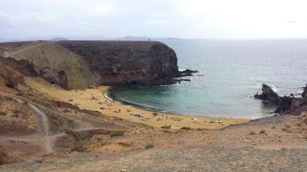 playa papagayo lanzarote