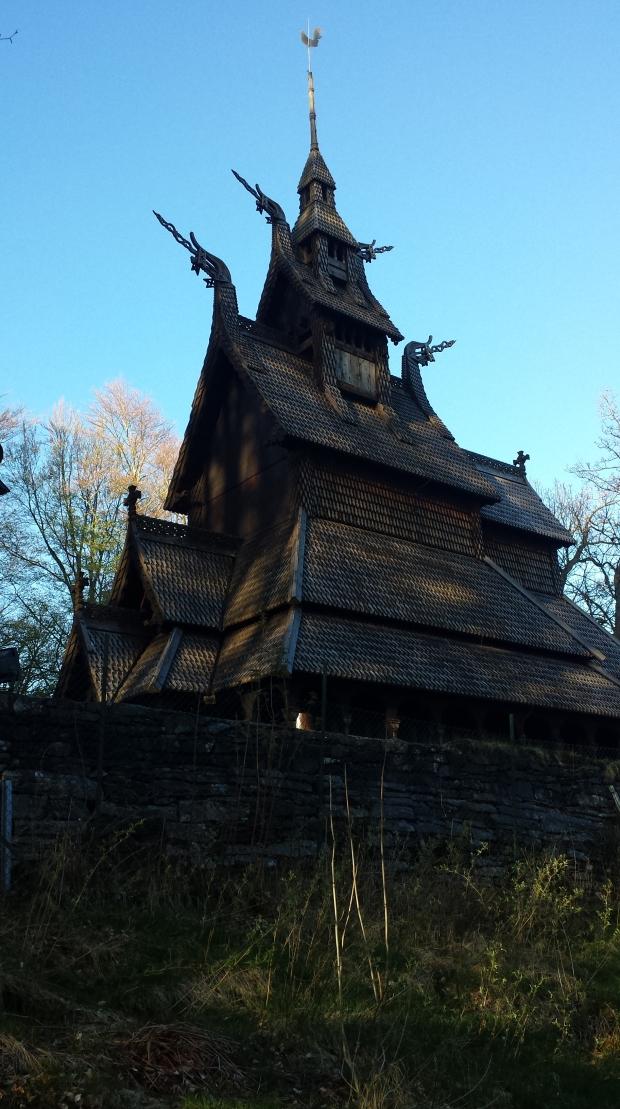 stavkirke di fantoft bergen