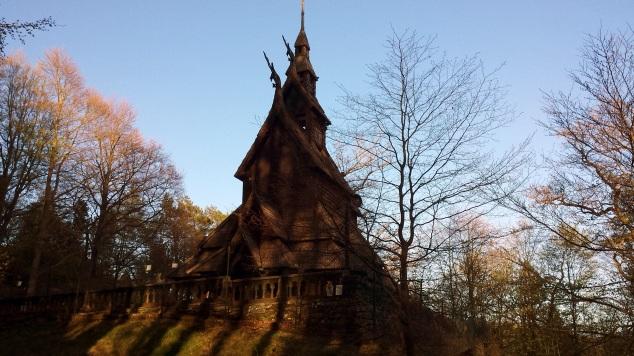 stavkirke di fantoft bergen 4