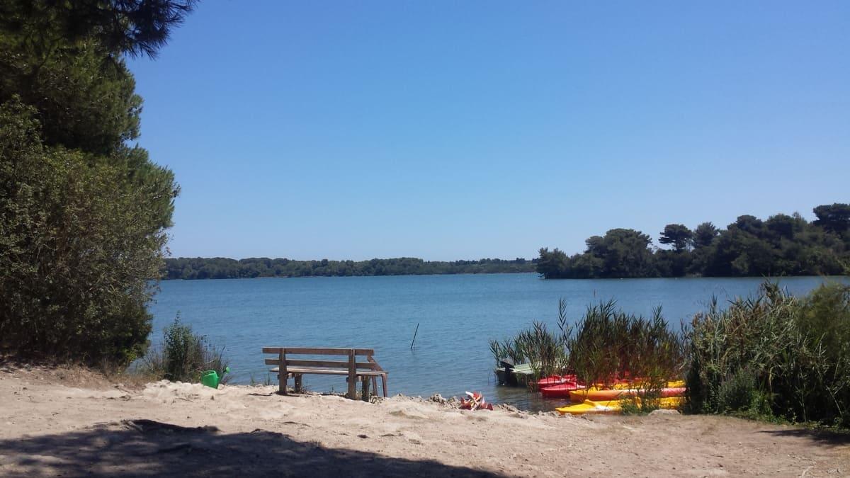 laghi alimini canoa
