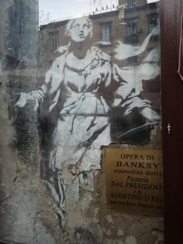 street art napoli bansky