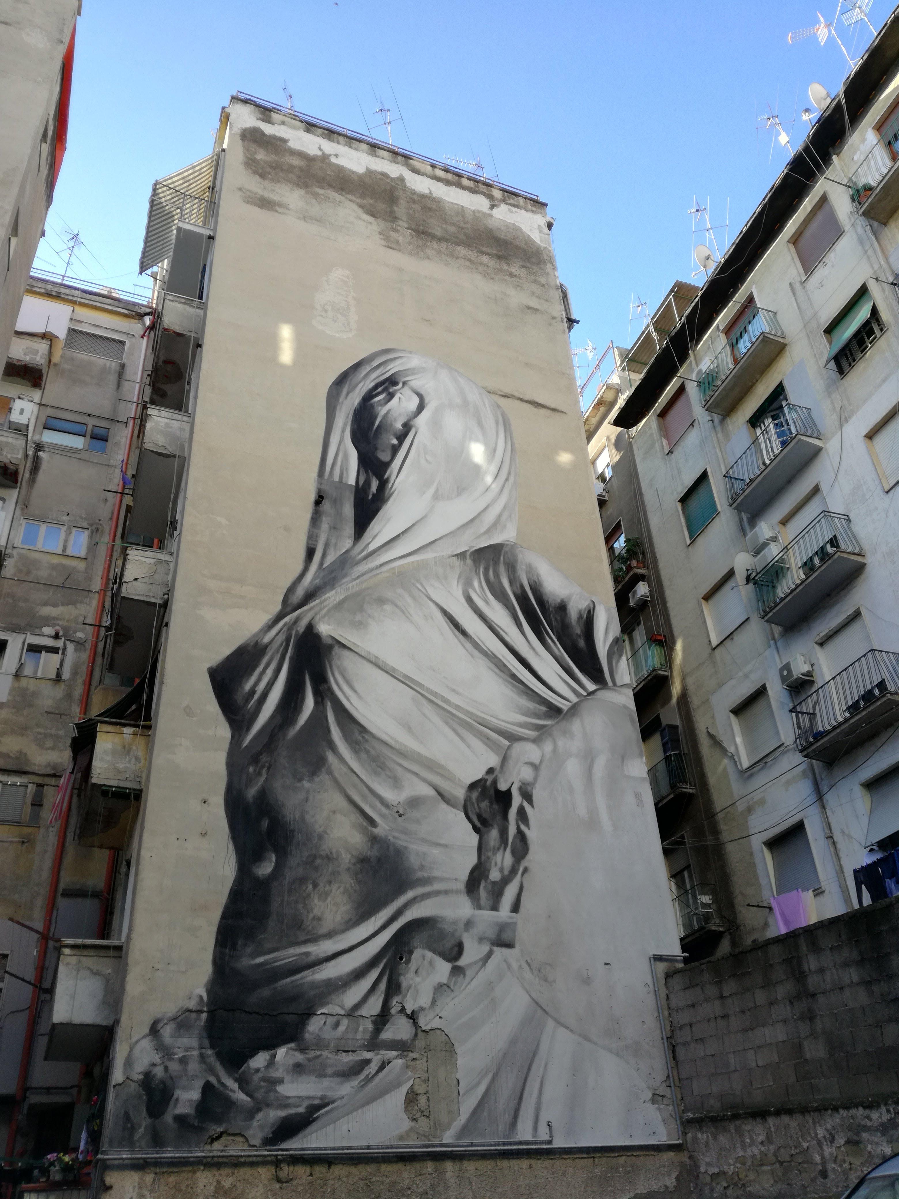 street art napoli iside bosoletti