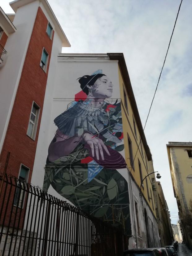 street art napoli partenope bosoletti