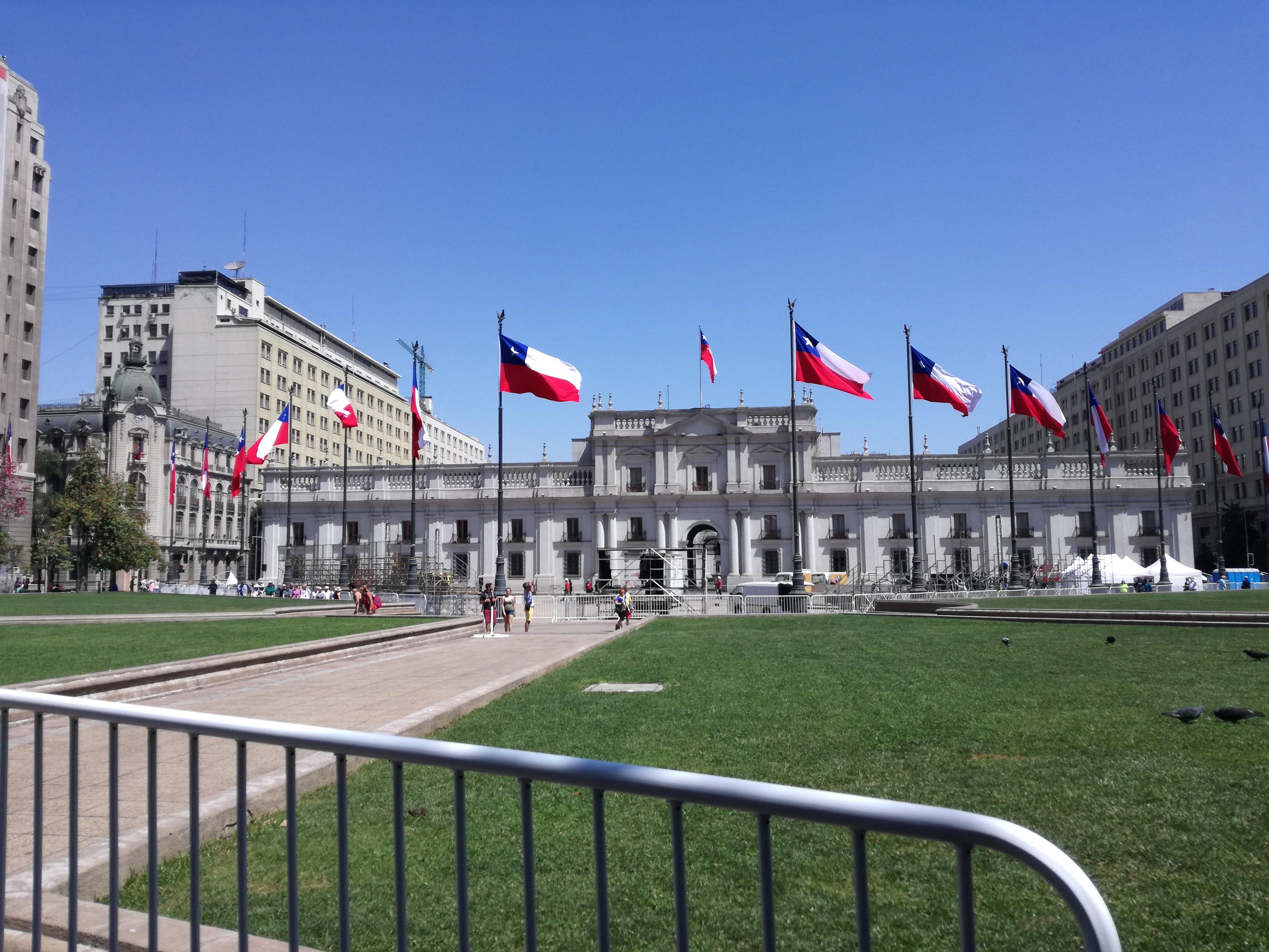 curiosità cile bandiera cilena