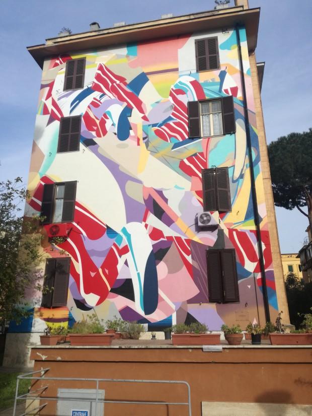 street art tor marancia roma
