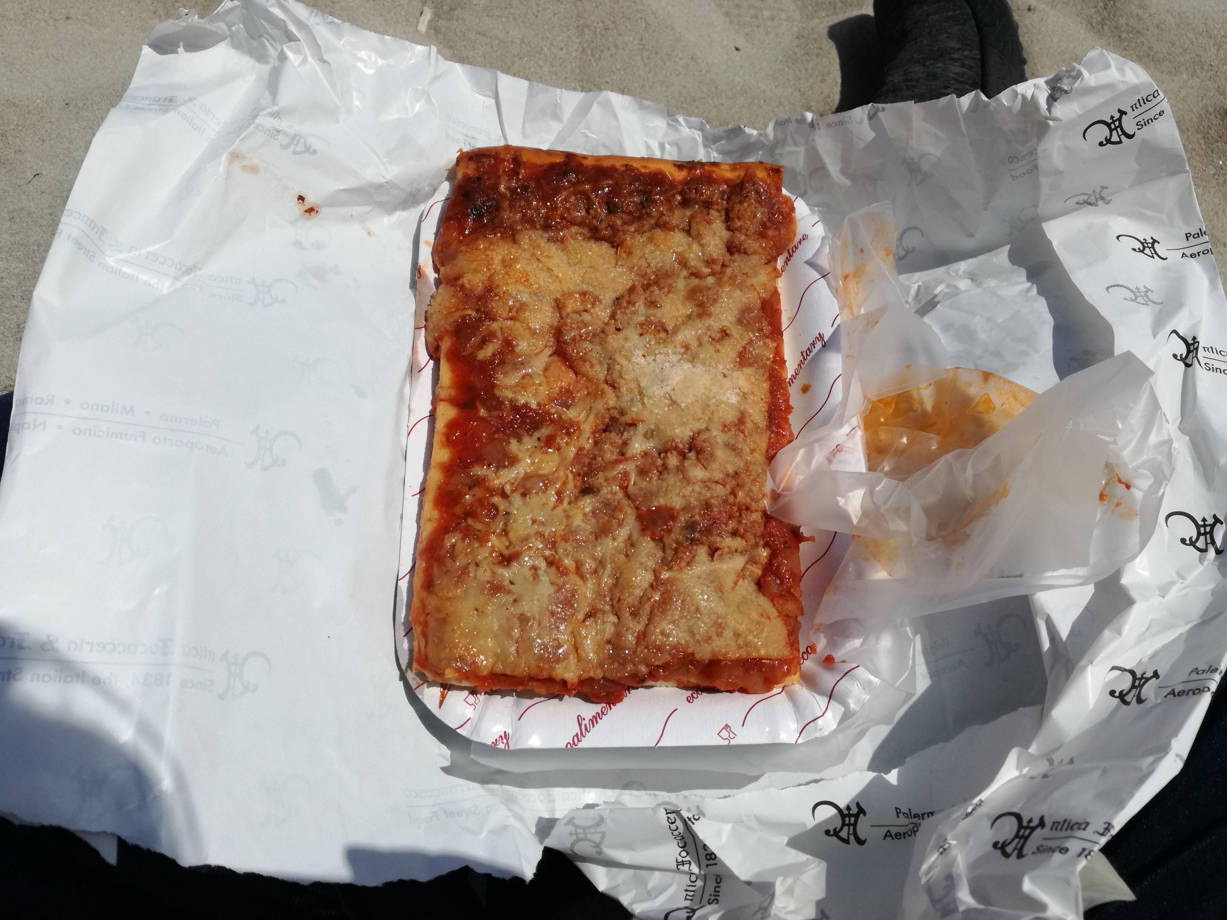 street food palermo sfincione
