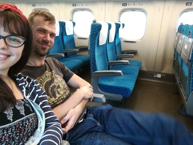 viaggiare in treno giappone