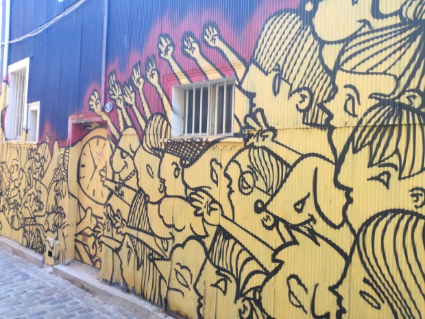 cosa vedere valparaiso street art