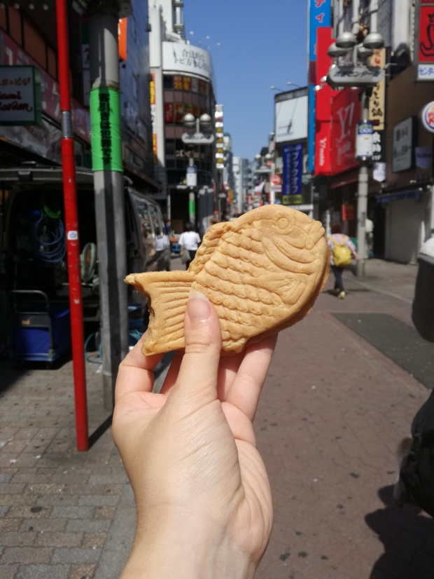 cosa mangiare in giappone taiyaki