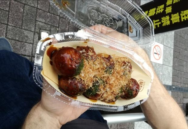 cosa mangiare giappone takoyaki