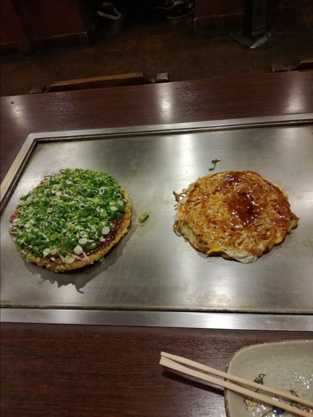 cosa mangiare in giappone okonomiyaki