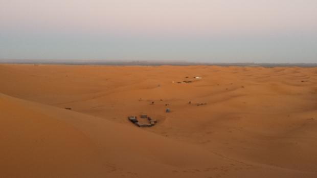 notte nel deserto del sahara