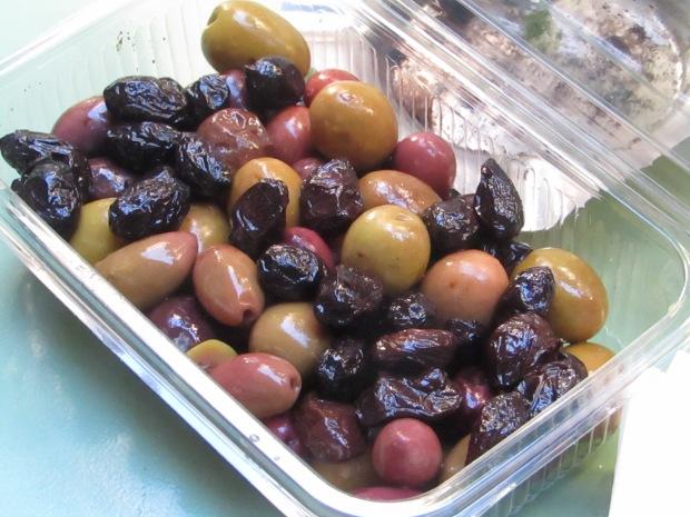 street food atene olive greche