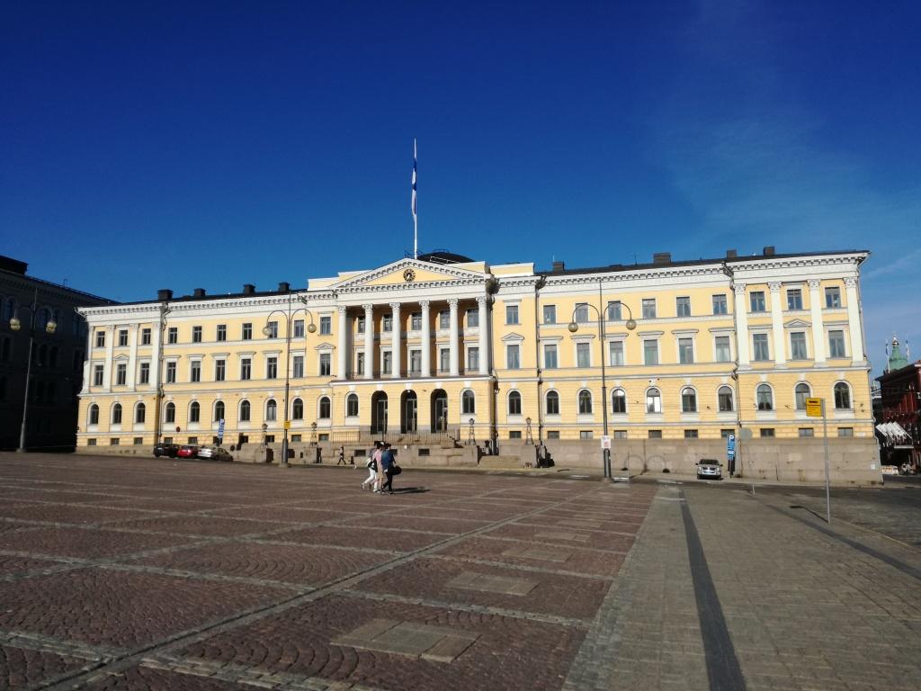 helsinki palazzo presidenziale