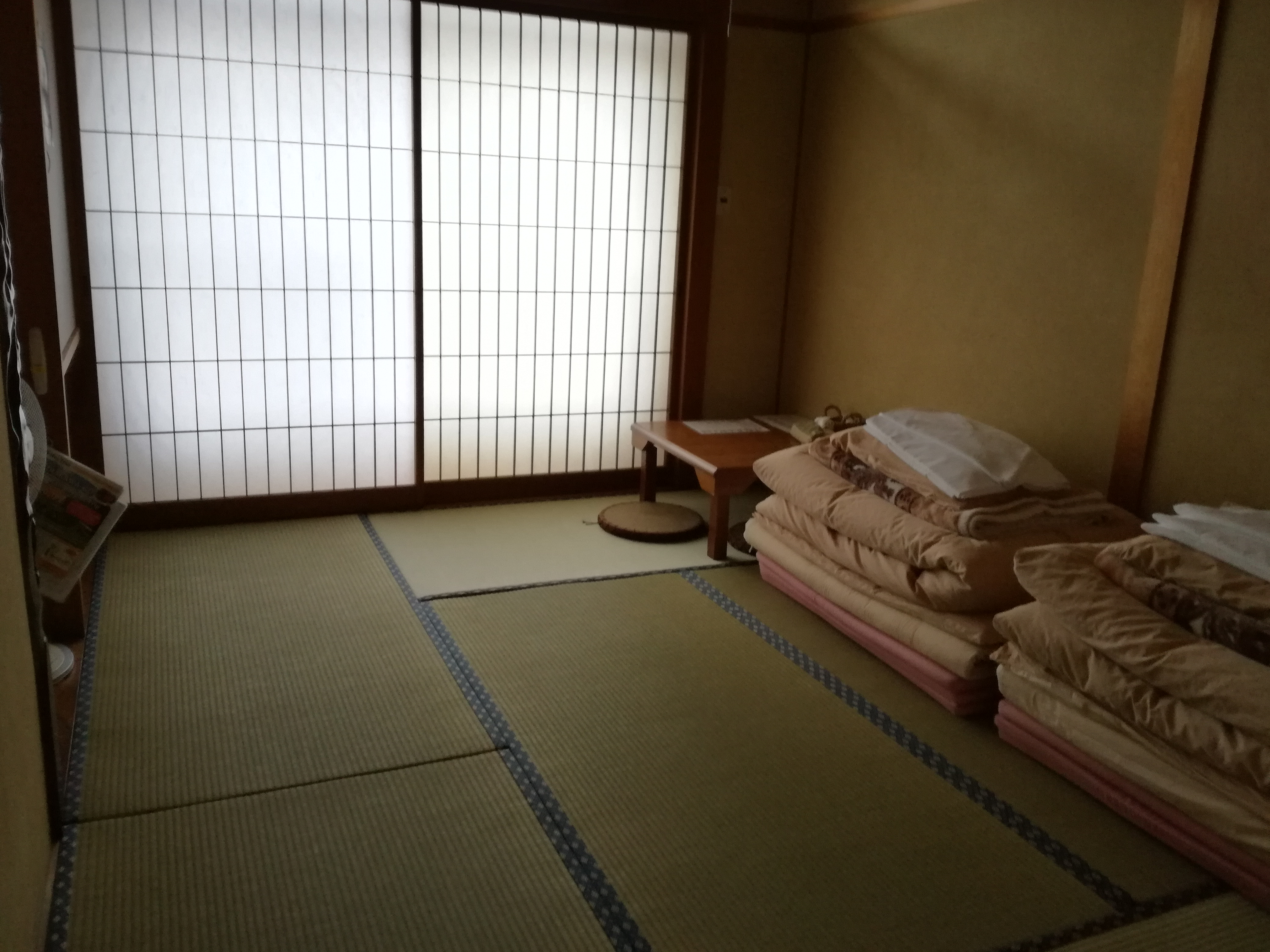 giappone guesthouse tatami