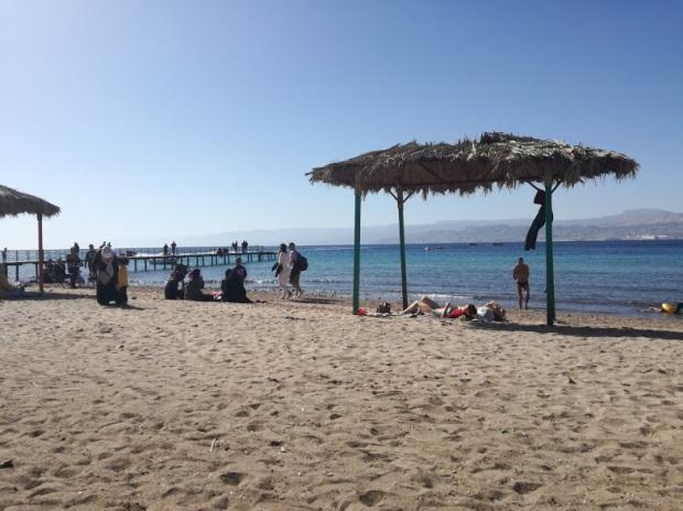 giordania aqaba spiagge