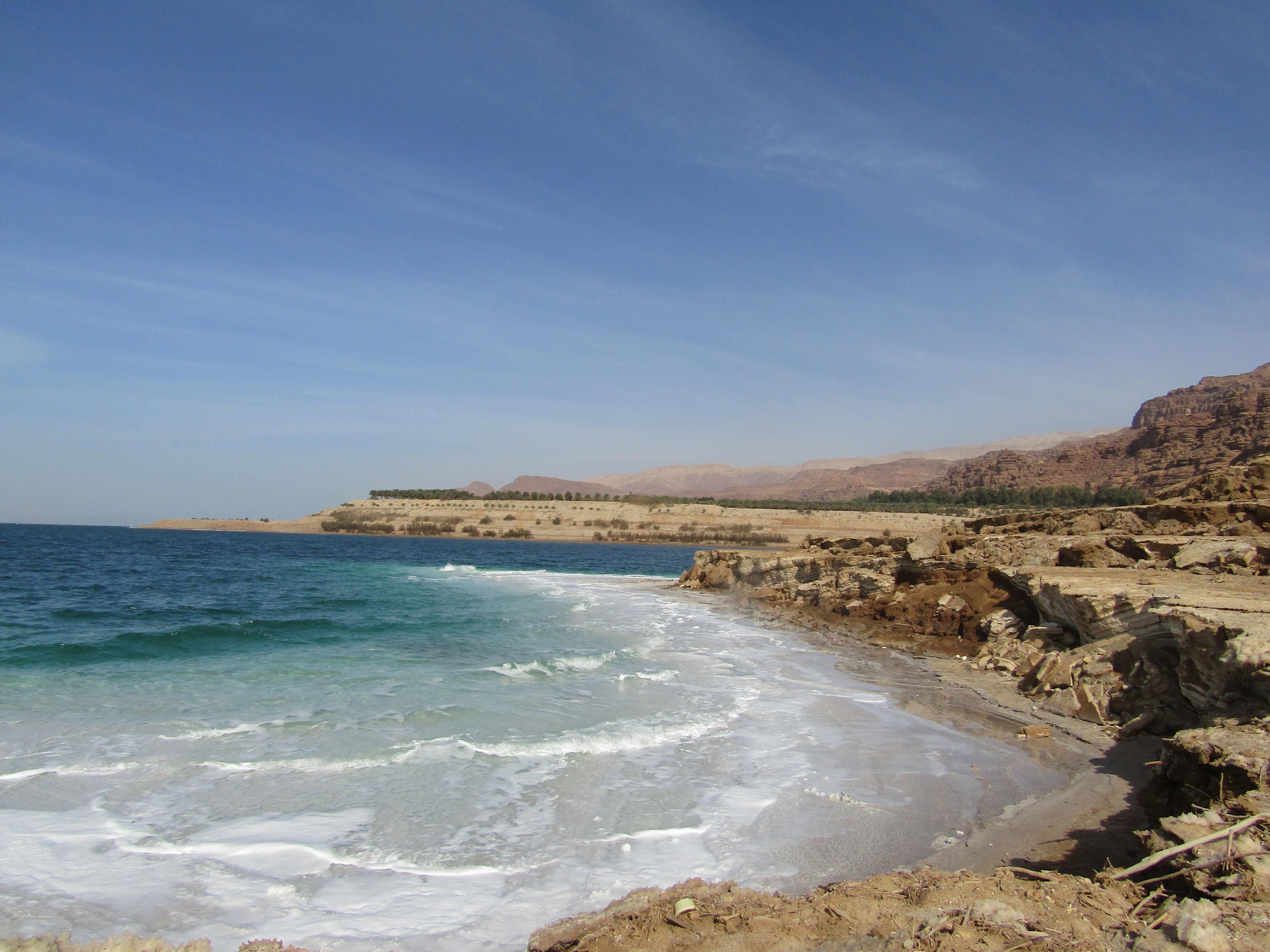 mar morto spiaggia libera