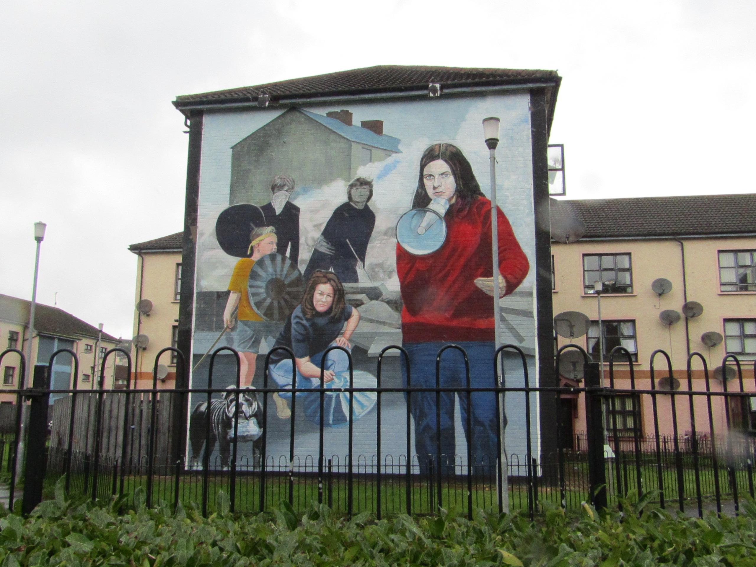 murales derry bernadette