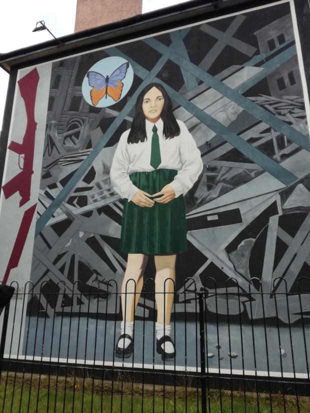 murales derry death of an innocent