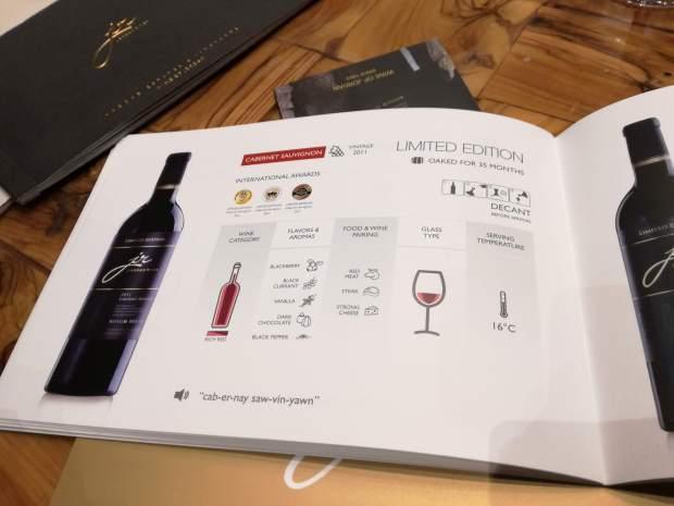 jr the wine experience degustazione