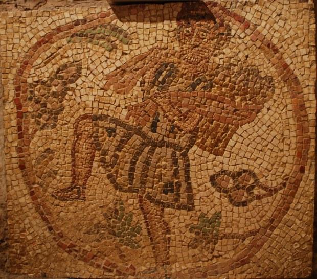 mosaico vino giordania