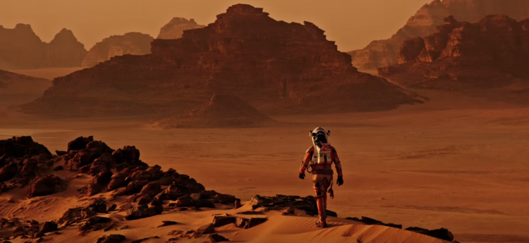 the martian wadi rum
