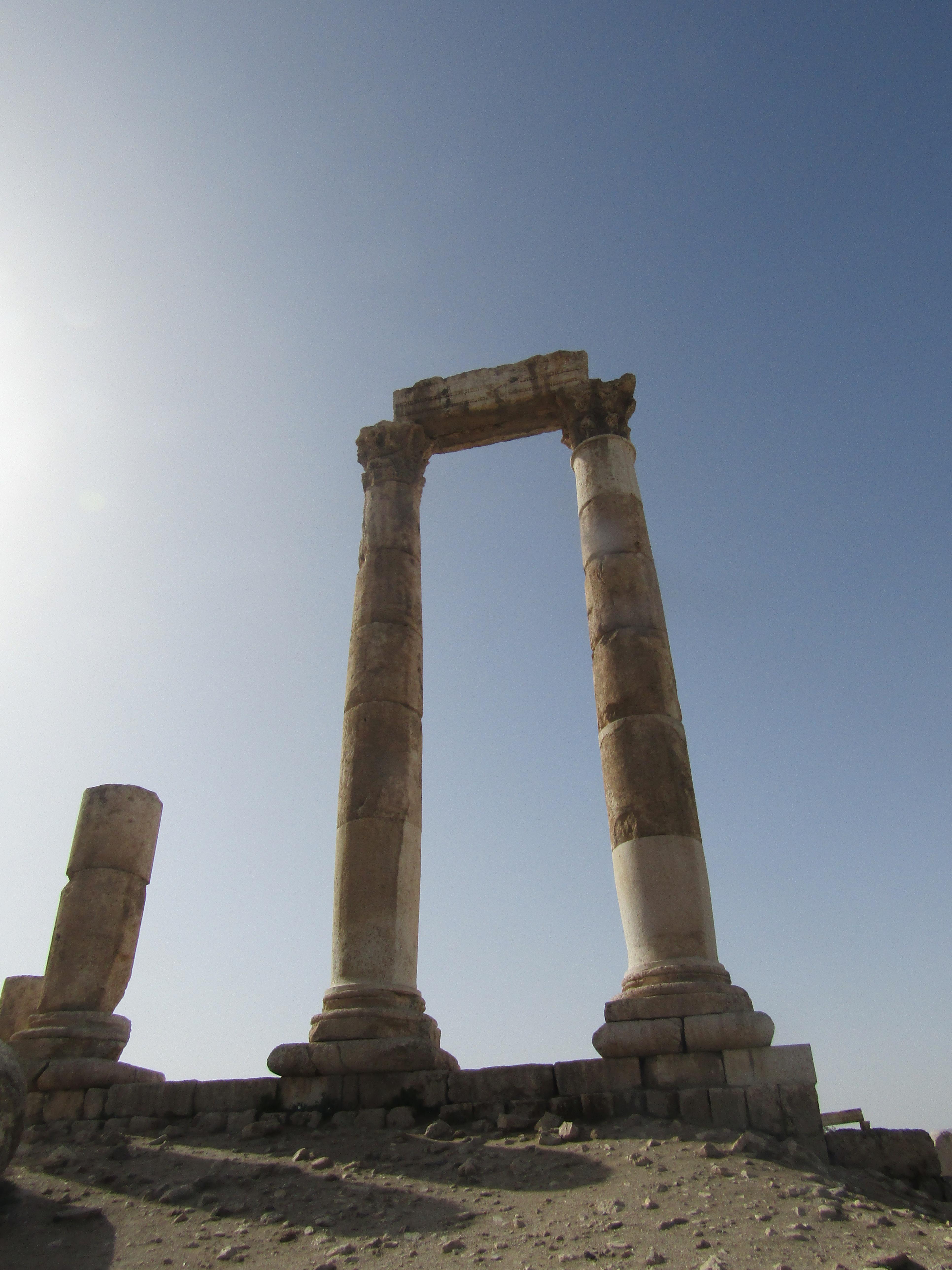 tempio di ercole cittadella amman