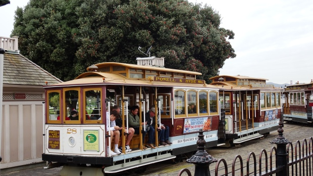 san francsco cable car