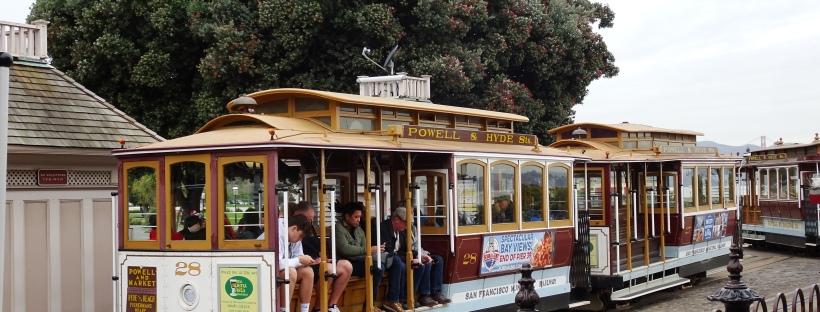 san francsco cable car