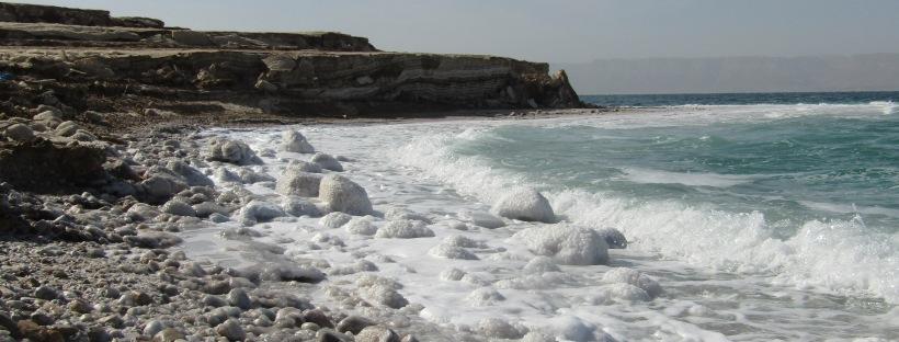 spiaggia libera mar morto
