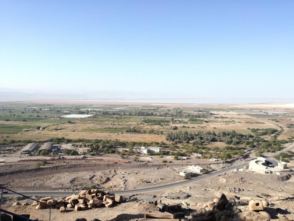 valle del fiume giordano