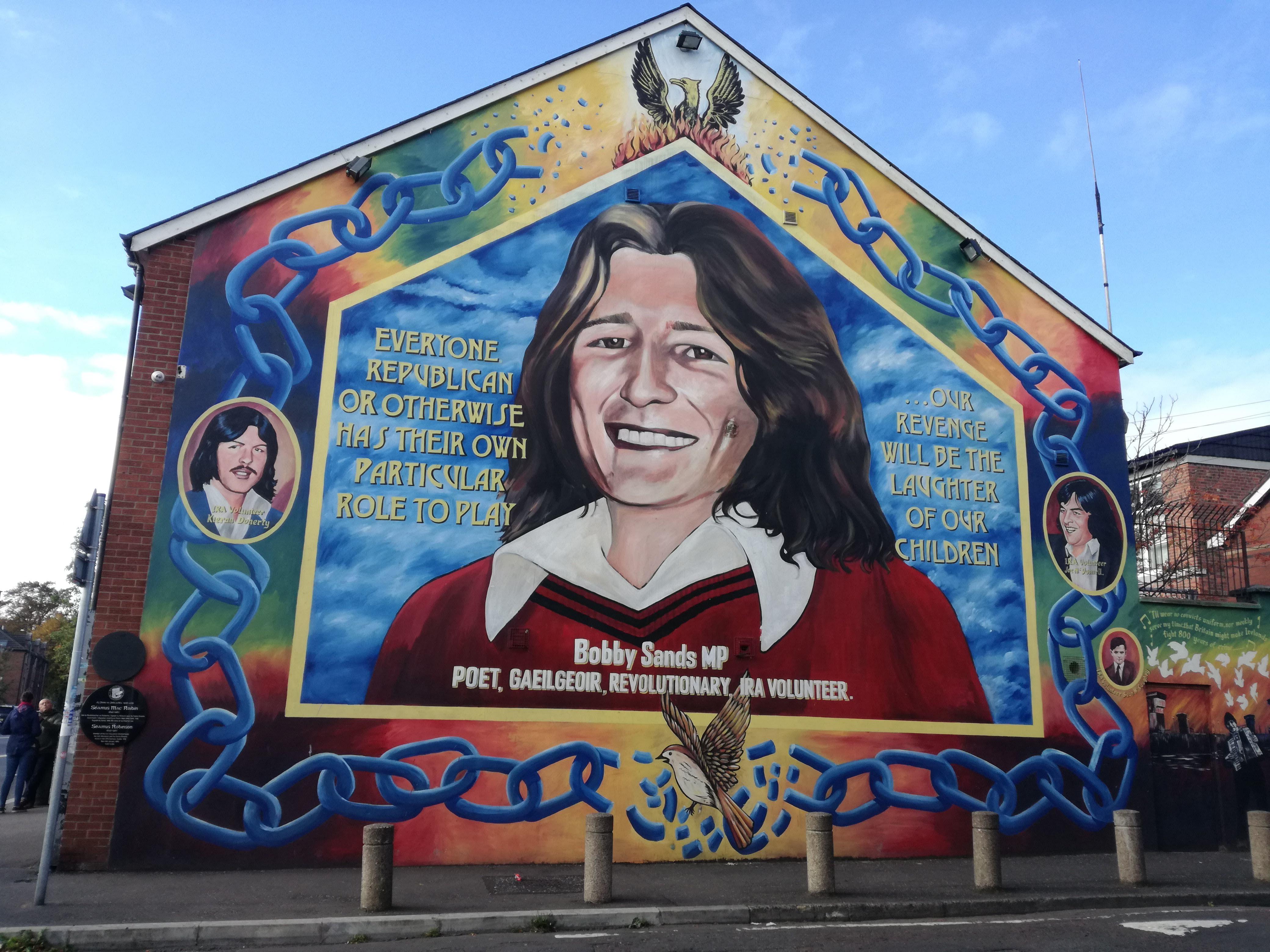 murales bobby sands belfast
