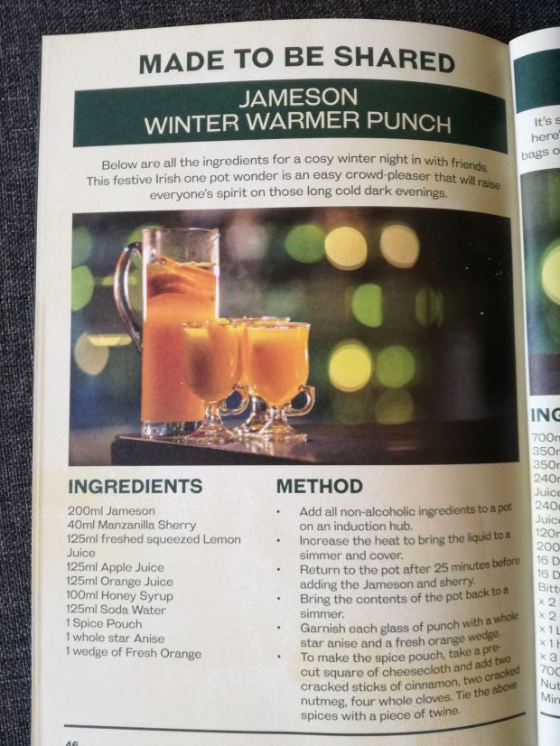 jameson whiskey winter punch