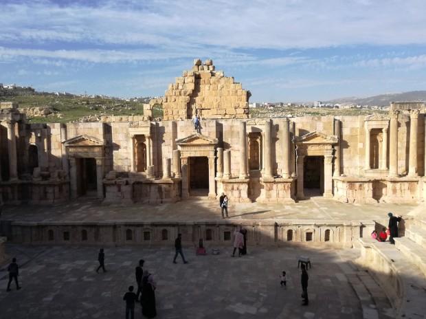 jerash anfiteatro