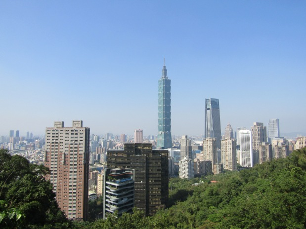taipei vista elephant mountain