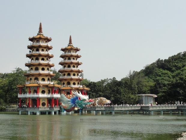cosa vedere kaoshiung lotus pond