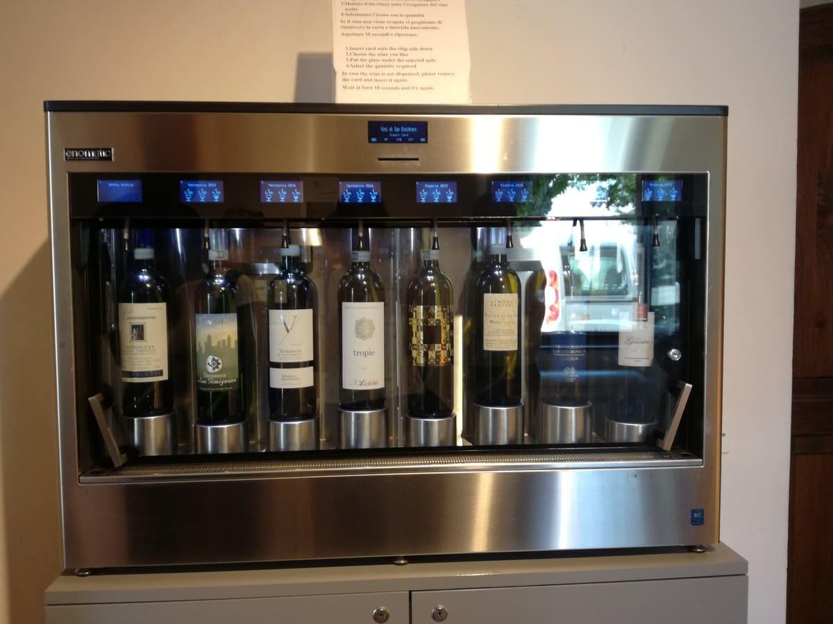 distributori vino san gimignano