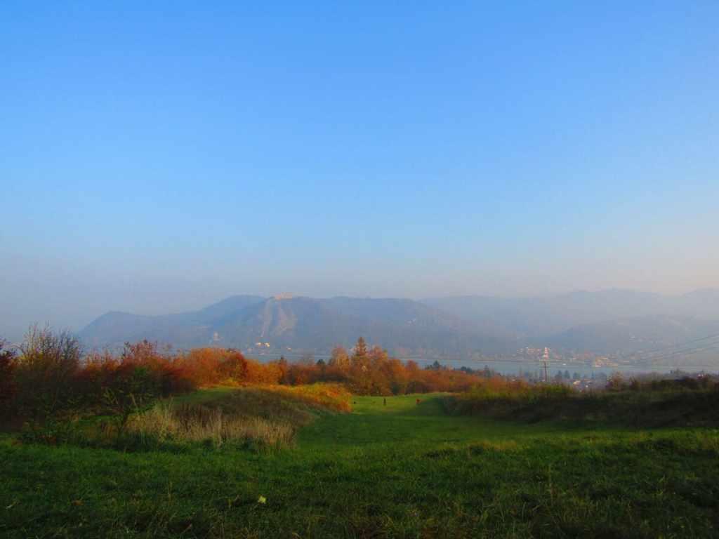 nagymaros vista castello visegrad
