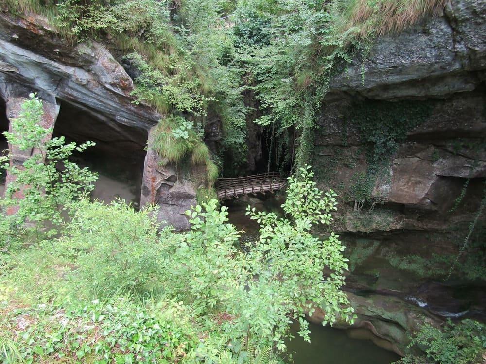 grotte del caglieron percorso