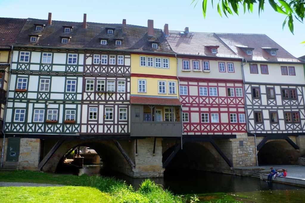 Krämerbrücke ponte erfurt